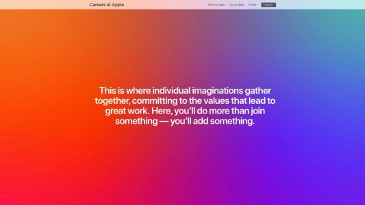 Apple launches new 'Careers at Apple' website highlighting job openings, perks, and more