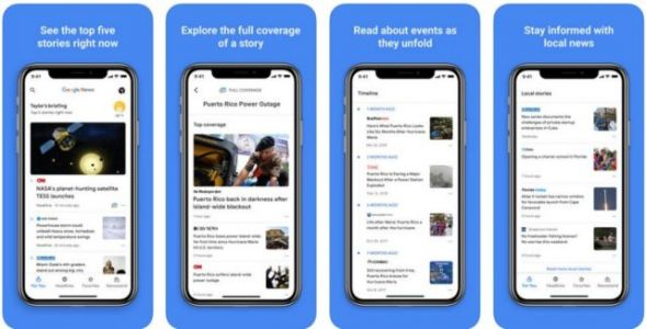 Revamped Google News Now Available On iOS