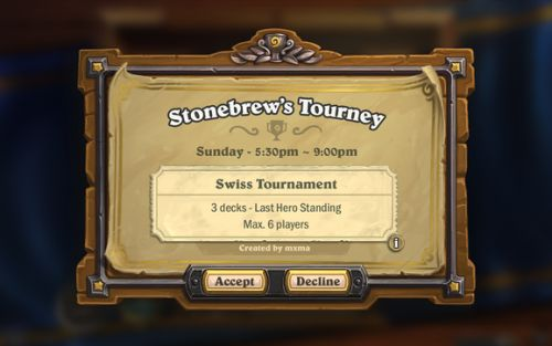 Hearthstone's in-game tournaments are on hold so Blizzard doesn't disappoint you
