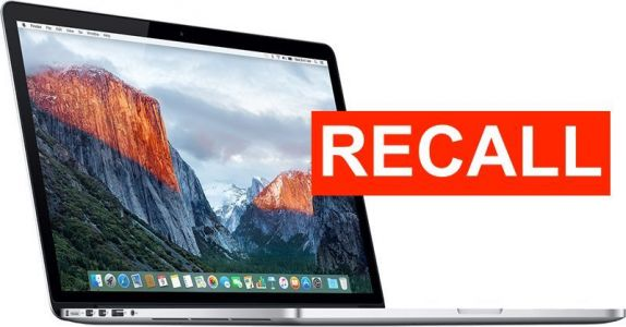 Recalled 2015 15-Inch MacBook Pro Models With Faulty Batteries Banned From Flights in U.S