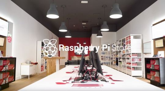 Raspberry Pi opens first high-street store