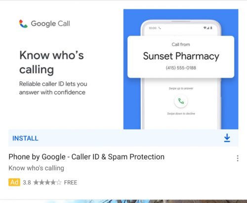 Google Phone app may be getting a new name, icon