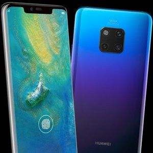 The Huawei Mate 20 Pro makes yet another appearance in Twilight finish