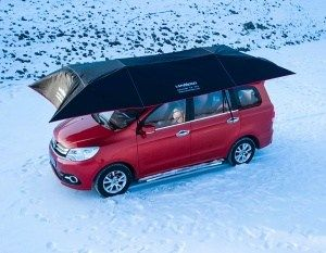 Lanmodo Pro - the 4 season tent for you and your car