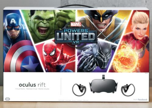 Oculus Rift VR Headset Marvel Bundle Unveiled