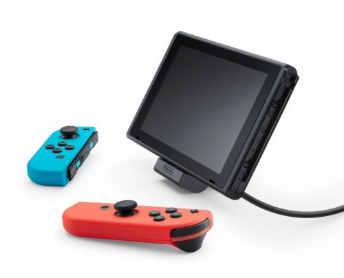 Nintendo will release a charging stand for the Nintendo Switch!