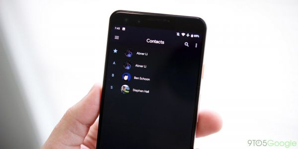 Google Contacts 3.5.7 adds improved dark theme switcher in settings