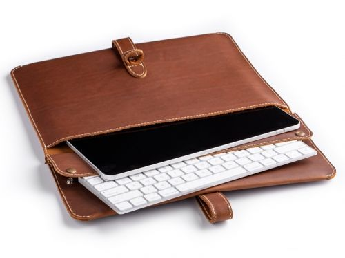 The new Oxford iPad Sleeve fits your tablet, a case, a keyboard, and more