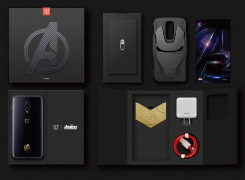 OnePlus 6 Avengers Infinity War Edition Launched