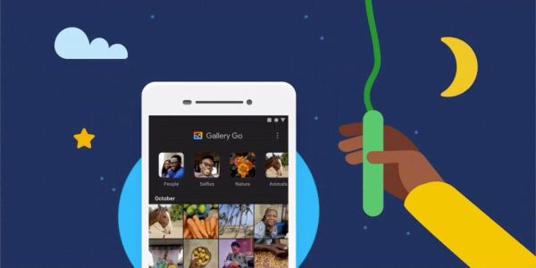 Google rolling out Gallery Go dark theme in first update since launch