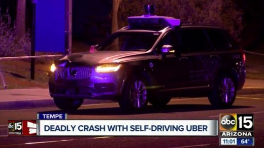 Uber's self-driving car kills pedestrian during testing