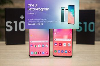 The Android 11 update with One UI 3.0 beta released for the Galaxy S10 and S10+