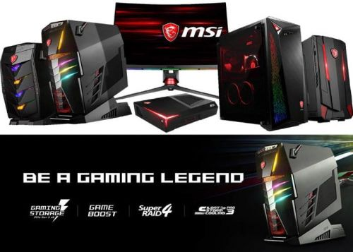 New 2018 MSI Gaming Desktop PCs Unveiled