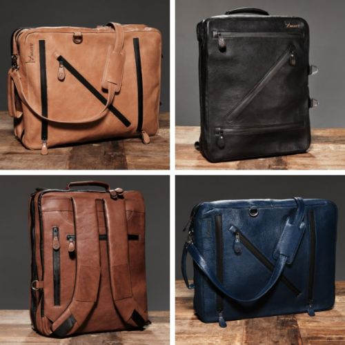 Zwuits messenger, briefcase, and backpack in one