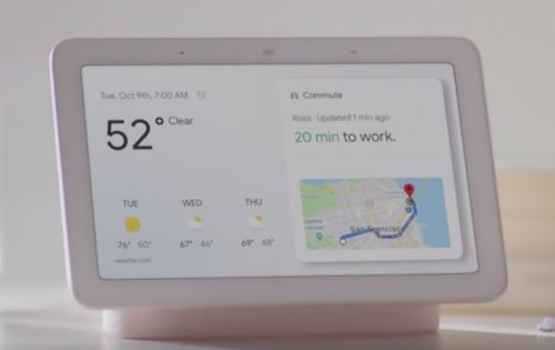 Google Home Hub is official