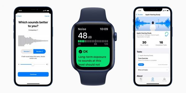Apple shares first insights from hearing study based on iPhone and Apple Watch data