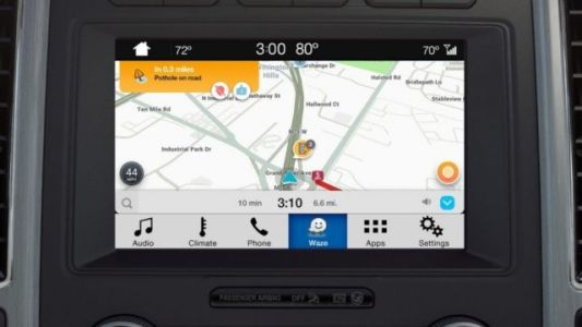 IPhone Users Can Now Project Waze On Their Ford Dashboards