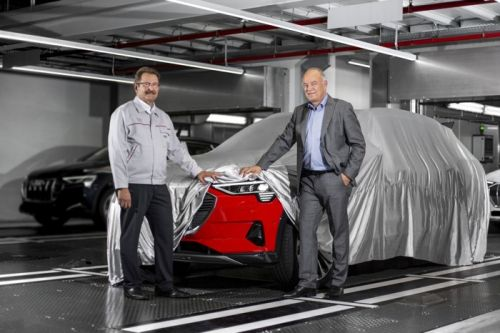 Audi E-Tron Production Starts Ahead Of This Months Launch