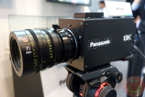 Panasonic World's First Organic 8K Sensor