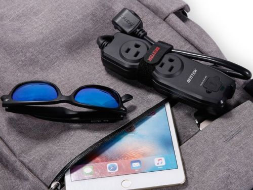 Travel with Bestek's discounted power strip and charge all your devices