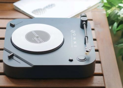 OMNI portable turntable for musicians, music lovers and DJs