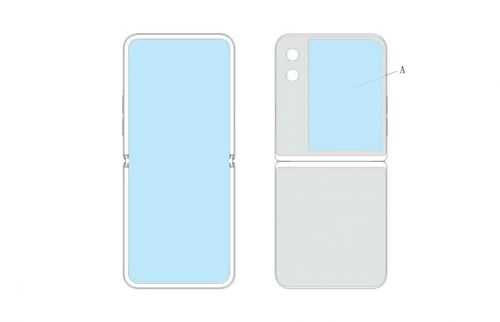 New Huawei Patent Reveals Foldable Flip Phone With A Large Cover Display