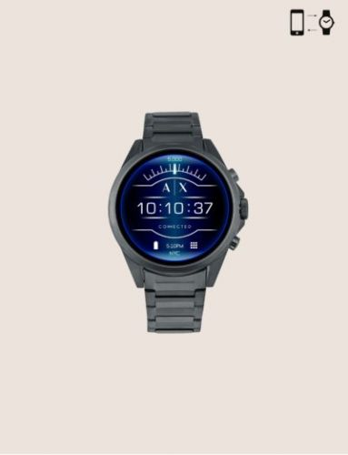 'Connected' Is The First Armani Exchange Wear OS Watch