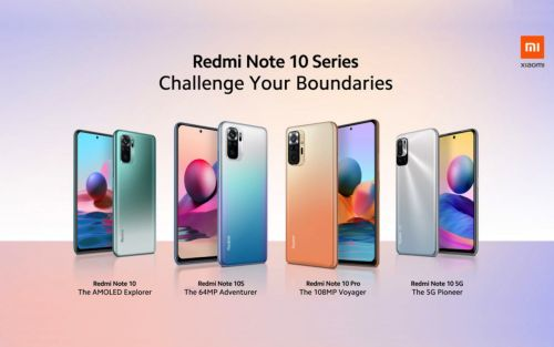 Xiaomi Redmi Note 10 series phones announced for global release