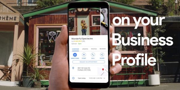 Store profiles in Google Maps adding logos, more business photos, and promos