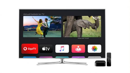 Vodafone Germany Provides Apple TV 4K With Every GigaTV Contract