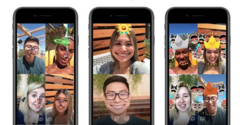 Facebook launches AR games for Messenger group video chat