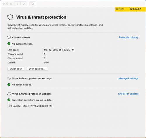 Microsoft ships antivirus for macOS as Windows Defender becomes Microsoft Defender
