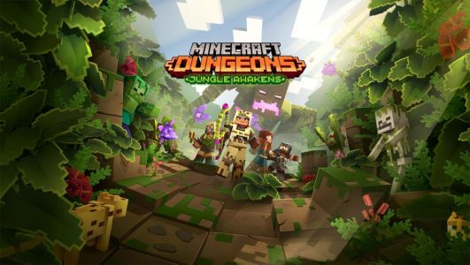 Now available: Jungle Awakens, Minecraft Dungeons' first DLC pack