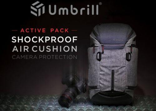 Umbrill air cushioned camera bag