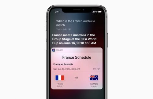 Apple goes all out for 2018 FIFA World Cup w/ Siri support, curation from Apple News, TV, Podcasts, more
