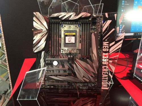 MSI's New Threadripper 2 Motherboard on Steroids: X399 Creation