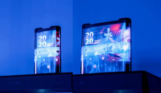 TCL Demos Rollable Smartphone Featuring Inkjet-Printed OLED Display