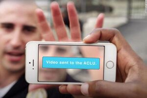 ACLU's app captures police misconduct even if they smash your phone