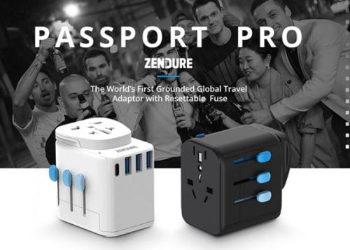 Passport Pro Resettable Grounded Travel Adapter