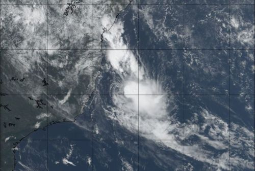 A rare tropical storm has formed off the coast of Brazil