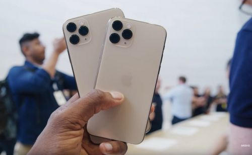 IPhone 11 Pro and 11 Pro Max shown off on video