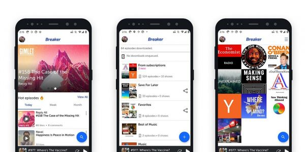 Breaker social podcast app for Android adds Google sign-in, timeline updates, more