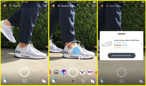 Snap is testing a way to search for products on Amazon right from Snapchat's camera