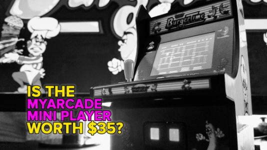 MyArcade Micro Player cabinets are cute, affordable gift items