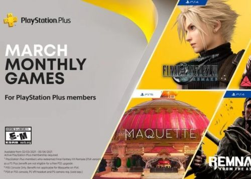 PlayStation Plus games for March 2021 confirmed by Sony