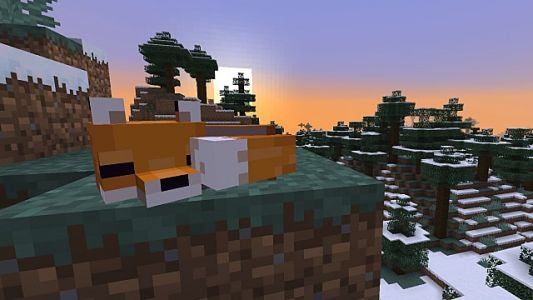 How to Tame Foxes in Minecraft 1.14