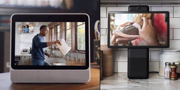 Facebook enters the smart speaker race with Portal and Portal+, featuring video calls and Amazon Alexa