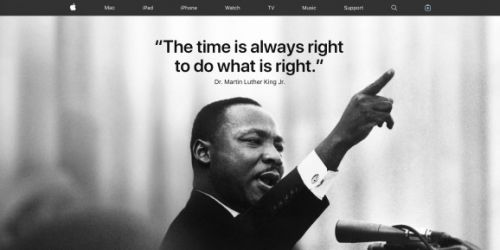 To truly honor Martin Luther King Jr., Apple should stop exploiting laborers