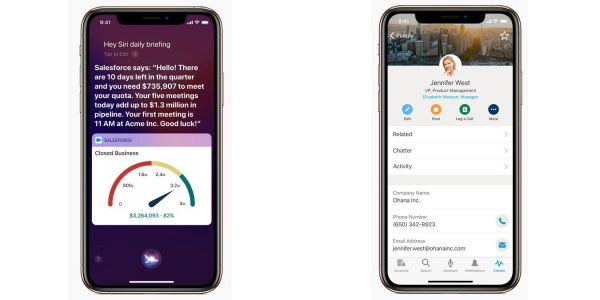 Apple partnership with Salesforce brings 'exclusive new features' to iOS apps