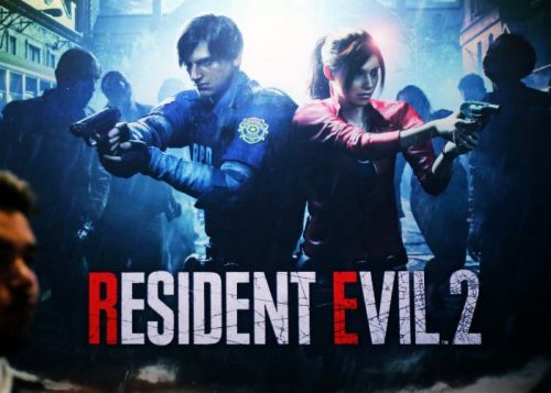 Resident Evil 2 with retro fixed camera angles mod